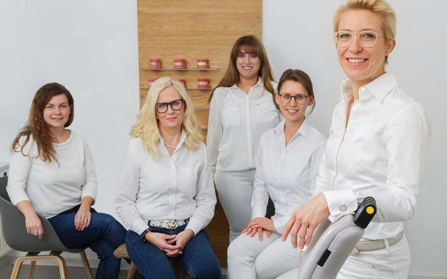Die Kieferorthopädie - das Team